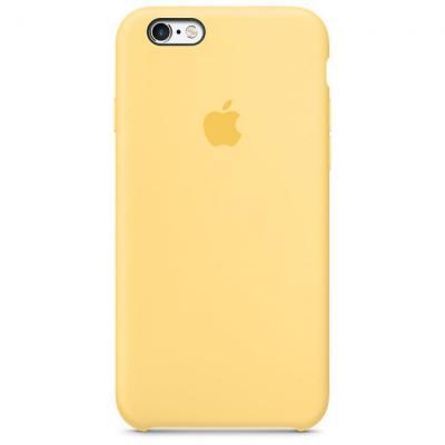 Силиконовый чехол Apple Silicon Case на iPhone 6, 6s желтого цвета