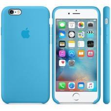 Силиконовый чехол Apple Silicon Case на iPhone 6, 6s голубой