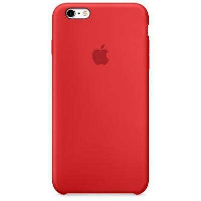 Силиконовый чехол Apple Silicon Case на iPhone 6, 6s красного цвета