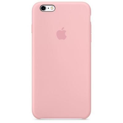 Силиконовый чехол Apple Silicon Case на iPhone 6, 6s светло-розового цвета
