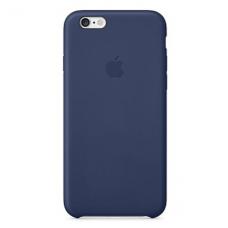 Силиконовый чехол Apple Silicon Case на iPhone 6, 6s темно-синий