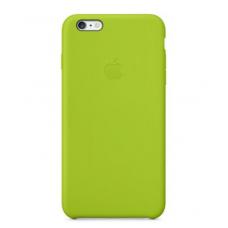 Силиконовый чехол Apple Silicon Case на iPhone 6, 6s зеленый