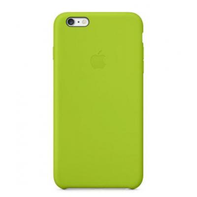 Силиконовый чехол Apple Silicon Case на iPhone 6, 6s зеленого цвета