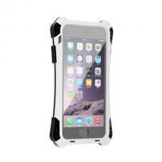 Бронированный чехол R-JUST Amira для iPhone 6 Plus, 6s Plus Серебристый с черным