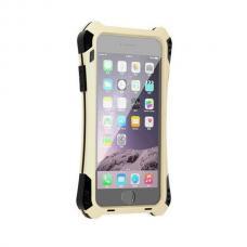 Бронированный чехол R-JUST Amira для iPhone 6 Plus, 6s Plus Золотой с чёрным