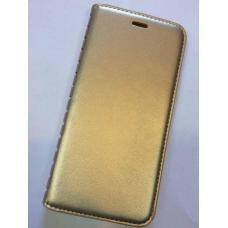 Чехол-книжка из эко-кожи Fashion Case для iPhone 6 Plus, 6s Plus Золотой