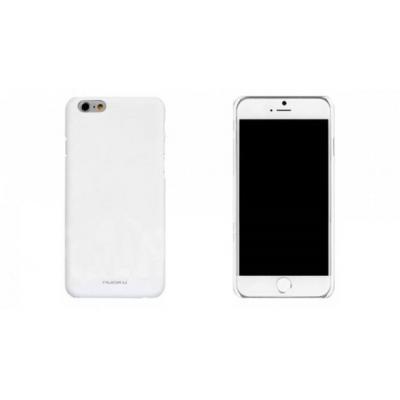 Пластиковый чехол Nuoku прорезиненный для iPhone 6 Plus, 6s Plus Белый