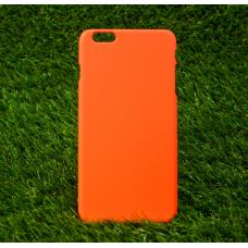Чехол пластиковый Soft-Touch для iPhone 6 Plus, 6s Plus Оранжевый