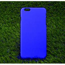 Чехол пластиковый Soft-Touch для iPhone 6 Plus, 6s Plus Синий