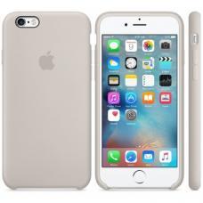 Чехол силиконовый Apple Silicon Case для iPhone 6 Plus, 6s Plus Бежевый