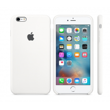 Чехол силиконовый Apple Silicon Case для iPhone 6 Plus, 6s Plus Белый