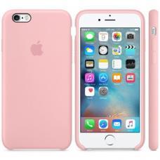 Чехол силиконовый Apple Silicon Case для iPhone 6 Plus, 6s Plus Светло-розовый