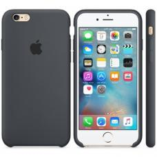Чехол силиконовый Apple Silicon Case для iPhone 6 Plus, 6s Plus Темно-серый