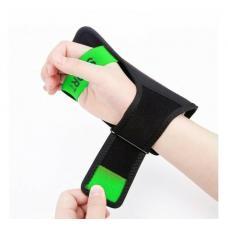 Универсальный спортивный чехол на запястье Baseus Flexible Wristband до 5,8 дюйма, Черный с зеленым