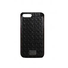 Чехол из эко-кожи под крокодила Puloka Polo для iPhone 7 Plus Черный