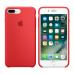 Силиконовый чехол Apple Silicon Case для iPhone 7 Plus Красный