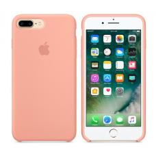 Чехол силиконовый Apple Silicon Case для iPhone 7 Plus Светло-розовый