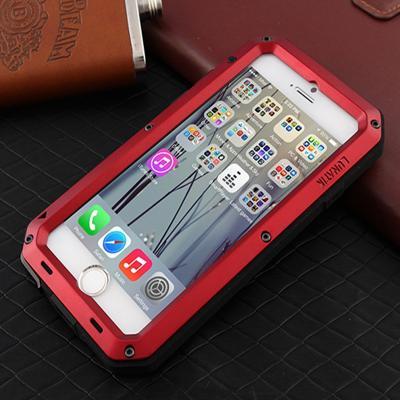 Чехол бронированный Lunatik Taktik Extreme для iPhone 8 Красный