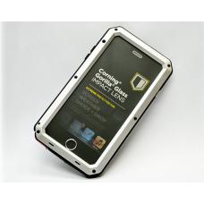 Бронированный чехол Lunatik Taktik Extreme для iPhone 8 Серебряный