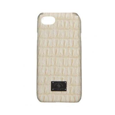 Чехол Puloka Polo из эко-кожи под крокодила для iPhone 7 Белый