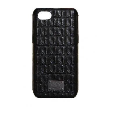 Чехол Puloka Polo из эко-кожи под крокодила для iPhone 7 Черный