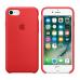Силиконовый чехол Apple Silicon Case для iPhone 7 Красный