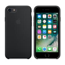 Чехол силиконовый Apple Silicon Case для iPhone 7 Черный