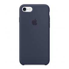 Чехол силиконовый Apple Silicon Case для iPhone 7 Темно-синий
