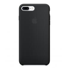 Чехол силиконовый Apple Silicon Case для iPhone 8 Plus Черный