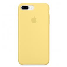 Чехол силиконовый Apple Silicon Case для iPhone 8 Plus Желтый