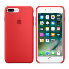 Чехол силиконовый Apple Silicon Case для iPhone 8 Plus Красный