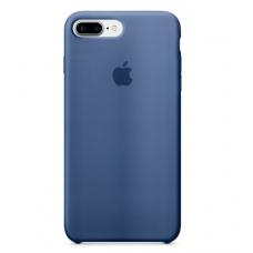 Чехол силиконовый Apple Silicon Case для iPhone 8 Plus Синий