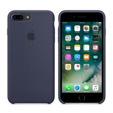 Чехол силиконовый Apple Silicon Case для iPhone 8 Plus Темно-синий