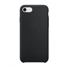 Чехол пластиковый Soft Touch Apple на iPhone 8 Черный