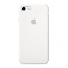 Чехол силиконовый Apple Silicon Case для iPhone 8 Белый