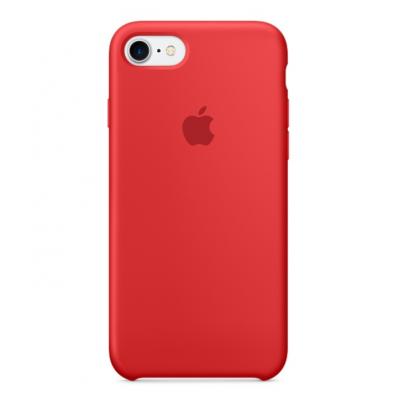 Силиконовый чехол Apple Silicon Case для iPhone 8 Красный