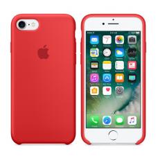 Чехол силиконовый Apple Silicon Case для iPhone 8 Красный
