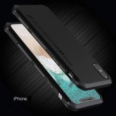 Чехол противоударный Element Case Solace для iPhone X Черный