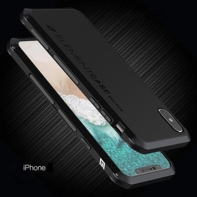 Противоударный чехол Element Case Solace для iPhone XR Черный