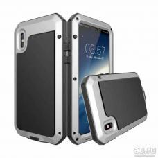 Бронированный чехол Lunatik Taktik Extreme для iPhone X, iPhone 10 Серебристый