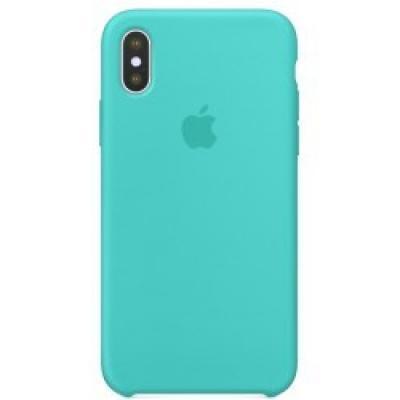 Чехол силиконовый Apple Silicon Case для iPhone X / iPhone 10 Мятный