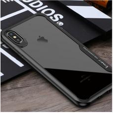 Противоударный чехол IPAKY TPU+PC для iPhone Xs Max Черный