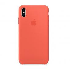 Чехол силиконовый Apple Silicon Case для iPhone XR Коралловый