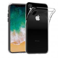 Ультратонкий силиконовый чехол Infinity для iPhone Xs Max Прозрачный