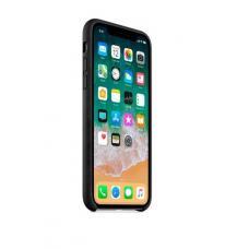 Чехол кожаный Leather Case для iPhone Xs Max Черный