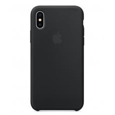 Чехол силиконовый Apple Silicon Case для iPhone Xs Max Черный