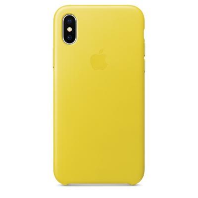 Силиконовый чехол Apple Silicon Case для iPhone Xs Max Желтый