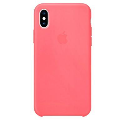 Силиконовый чехол Apple Silicon Case для iPhone Xs Max Розовый