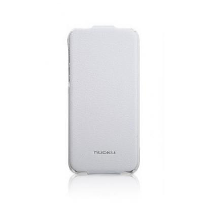 Кожаный чехол Nuoku для iPhone 5/5S Elite Series Exclusive Leather Case Белый