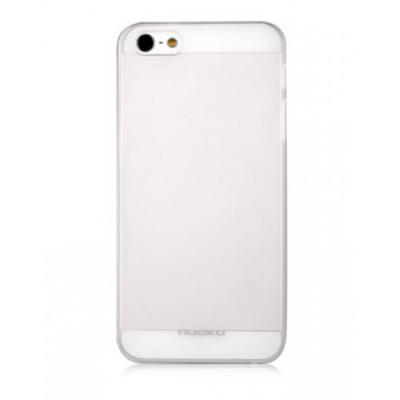 Тонкий чехол Nuoku для iPhone 5/5S Fresh Series Soft-touch Cover Белый